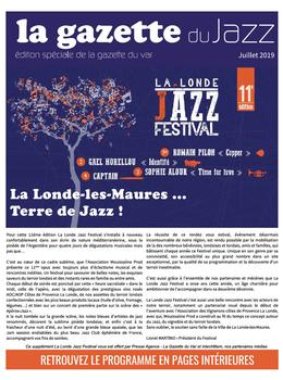 La gazette du Jazz